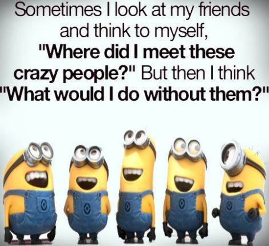 Minion - friends crazy