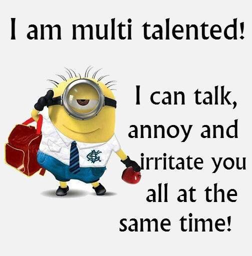 Multitasking Minion