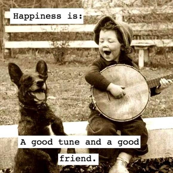 good tune good friend