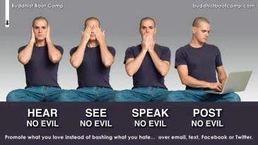 hear no evil post no evil