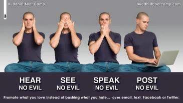 hear no evil post no evil