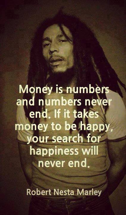 money endless Bob Marley