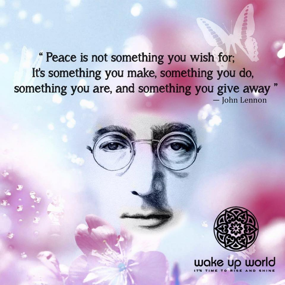 Mmgs English Blog At Pmcurie Peace By John Lennon
