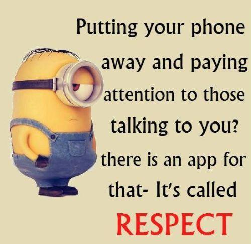 Minion - respect