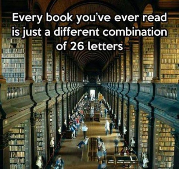 every book 26 letters