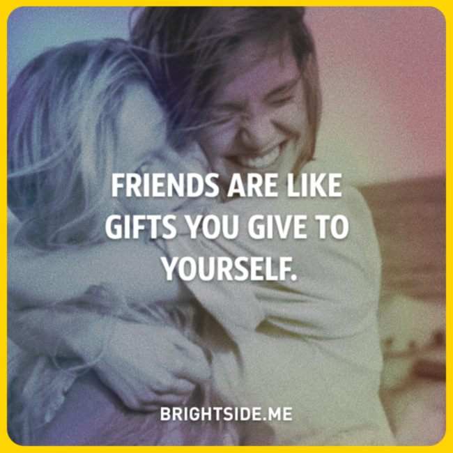 friends - gifts