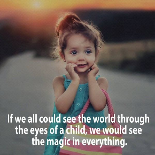 see eyes child magic everywhere