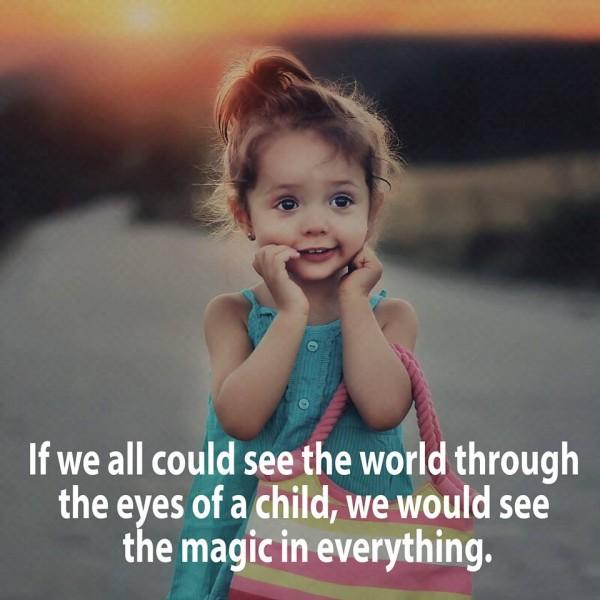 see eyes child magic everywhere