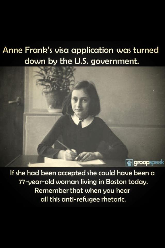 Anne Franck refugee