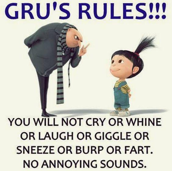 Gru's rules