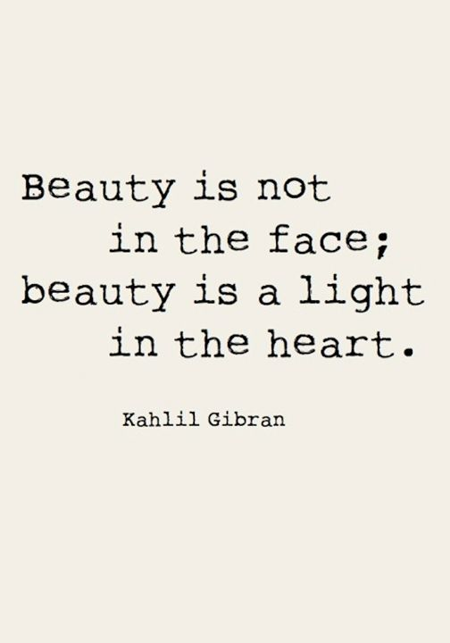 beauty light in heart