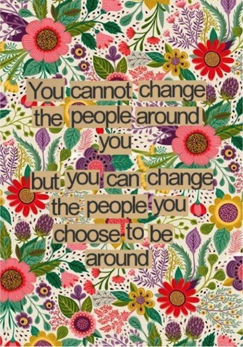 change people around
