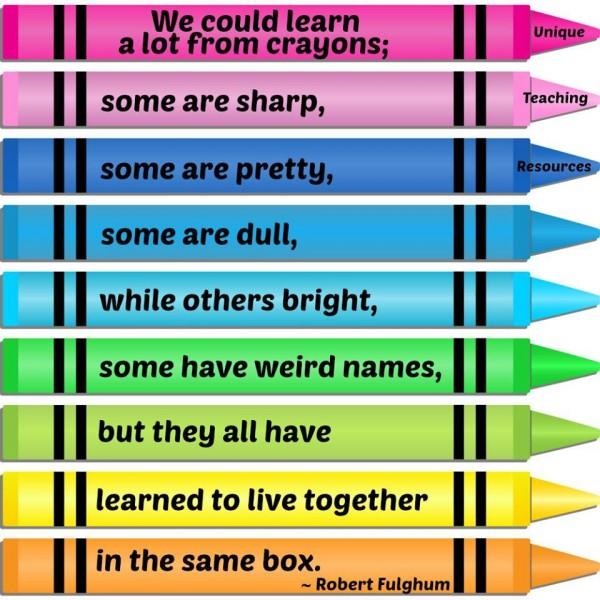 crayon box live together