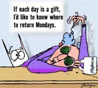 days gifts return mondays