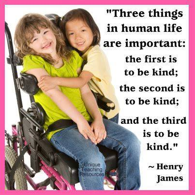 important thig to be kind