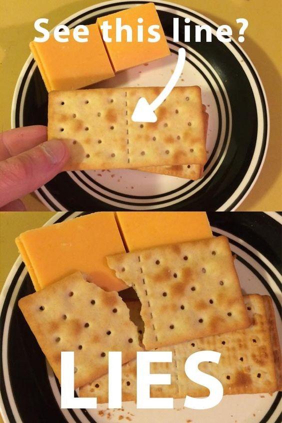 lying cracker