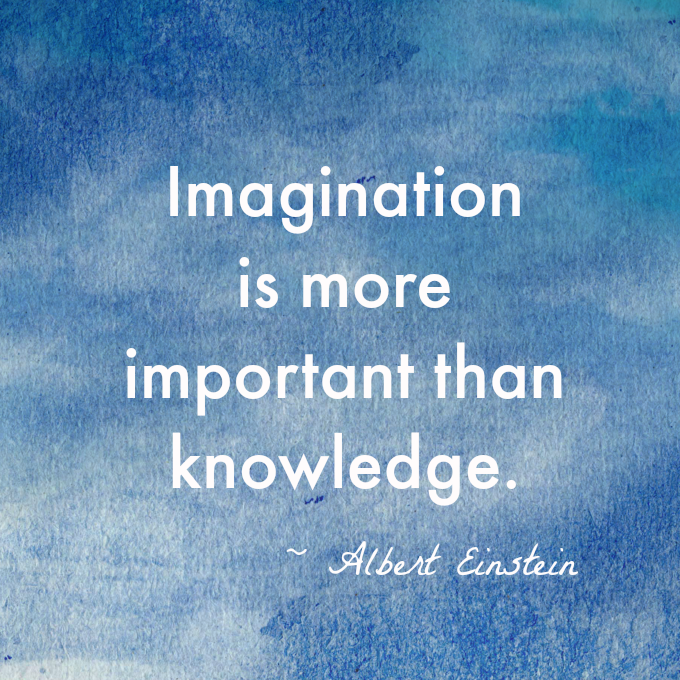 Imagination-knowledge-Einstein