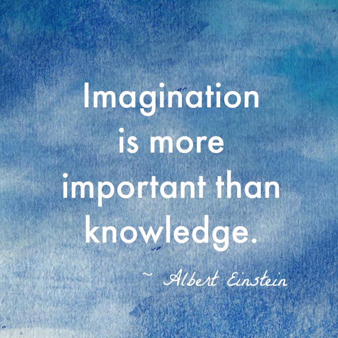 Imagination-knowledge-Einstein