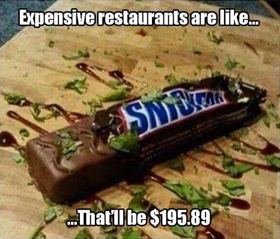 expensive restaurants - Sneakers