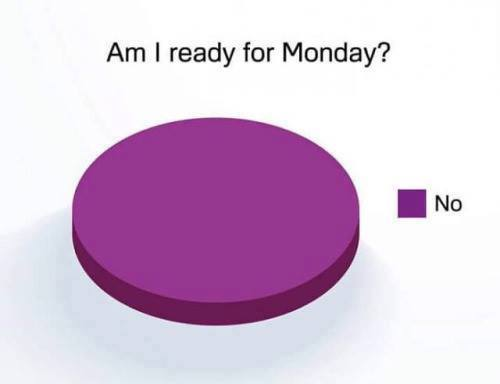 ready for monday - no