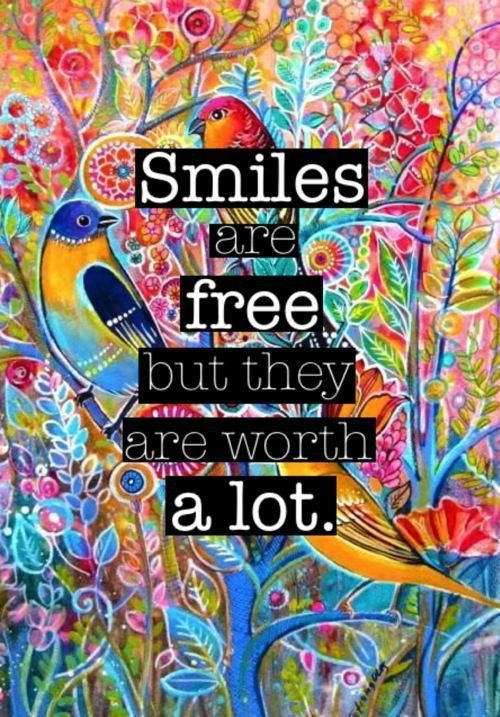 smiles are free