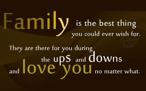 Family-best thing