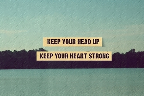head up - heart strong
