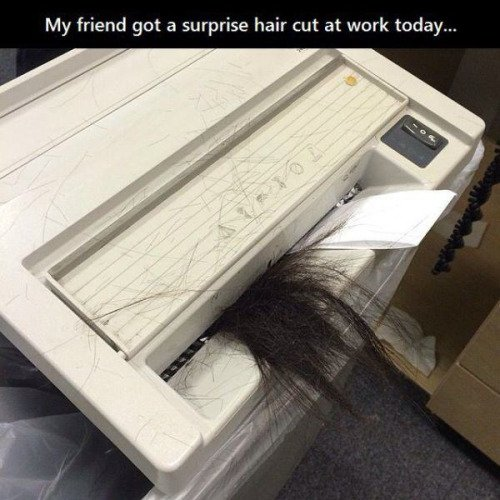 surprise haircut