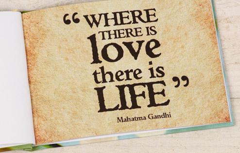 where love life Gandhi