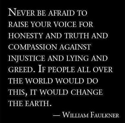 Faulkner - raise your voice