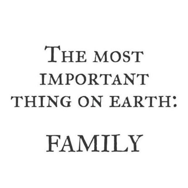 family most important thing