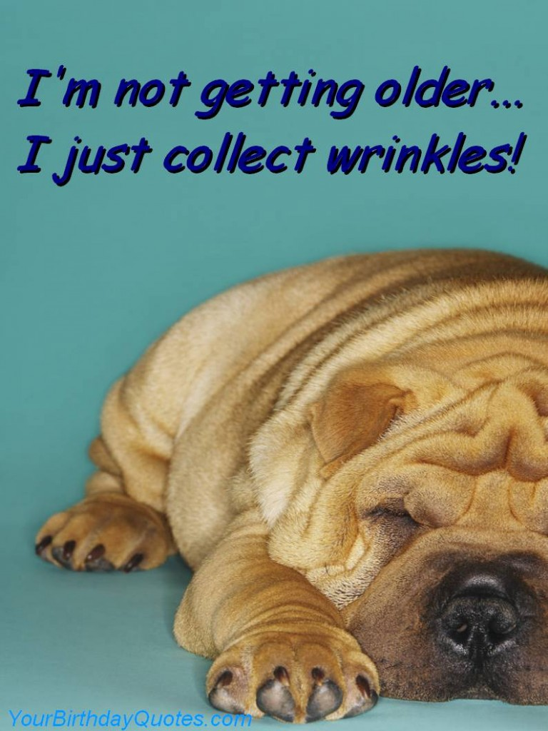 not older collect wrinkles