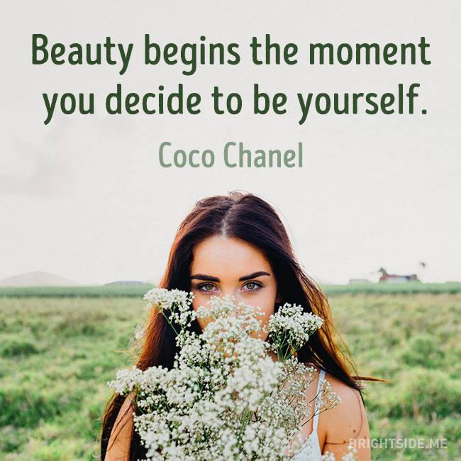 beauty begin be yourself