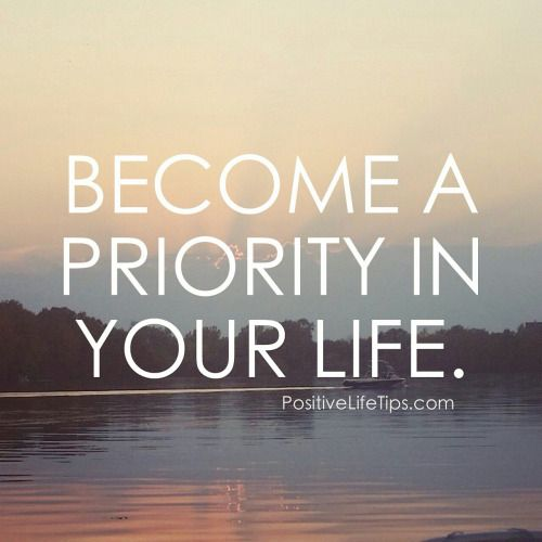 become a priority