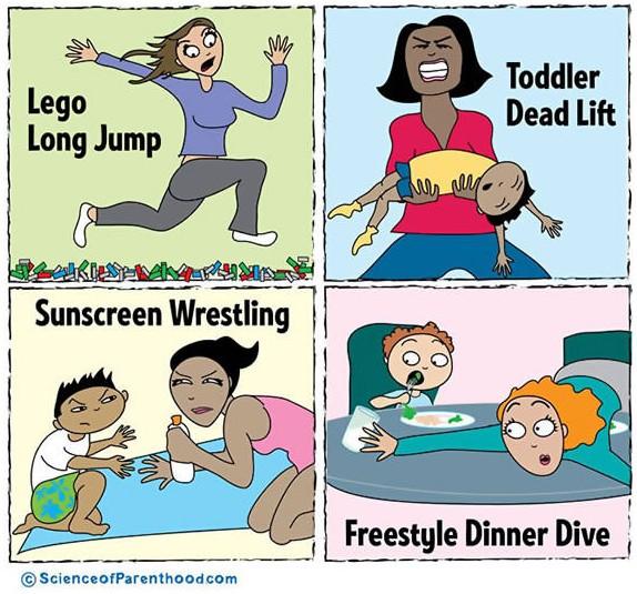 olympics parenthood