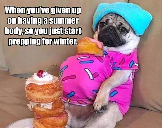 summer body - prepping for winter