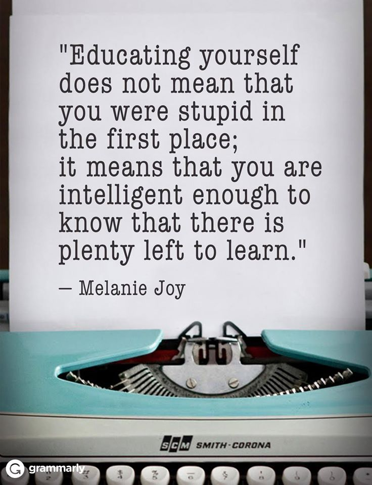 educating-yourself-melanie-joy