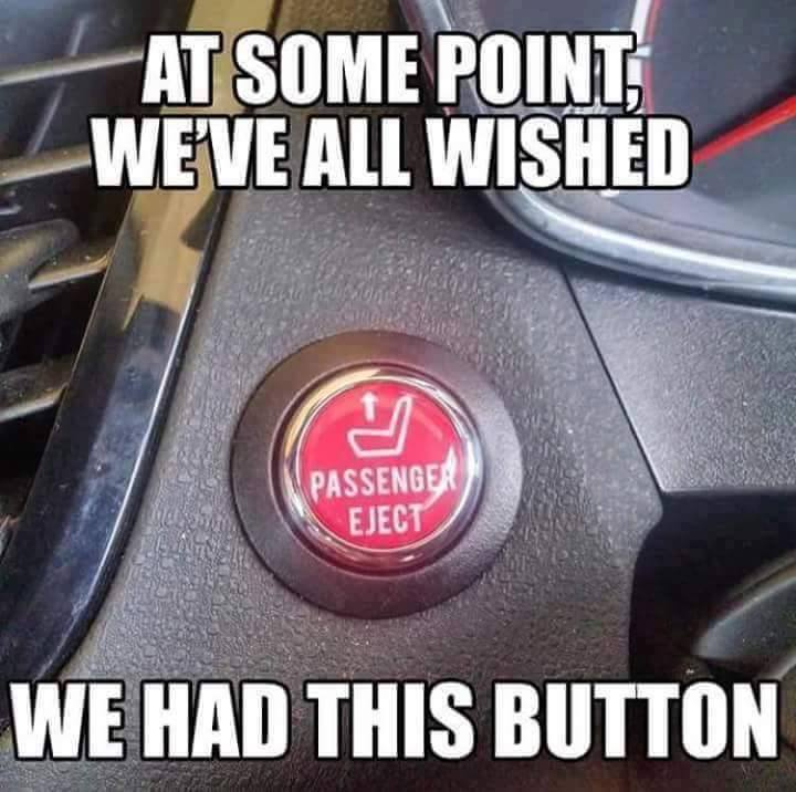 passengers eject button