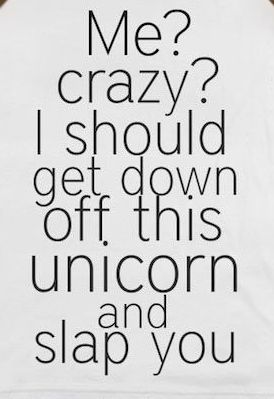 me-crazy-come-off-unicorn-and-slap-you
