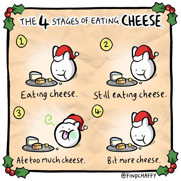 4-stages-eating-cheese