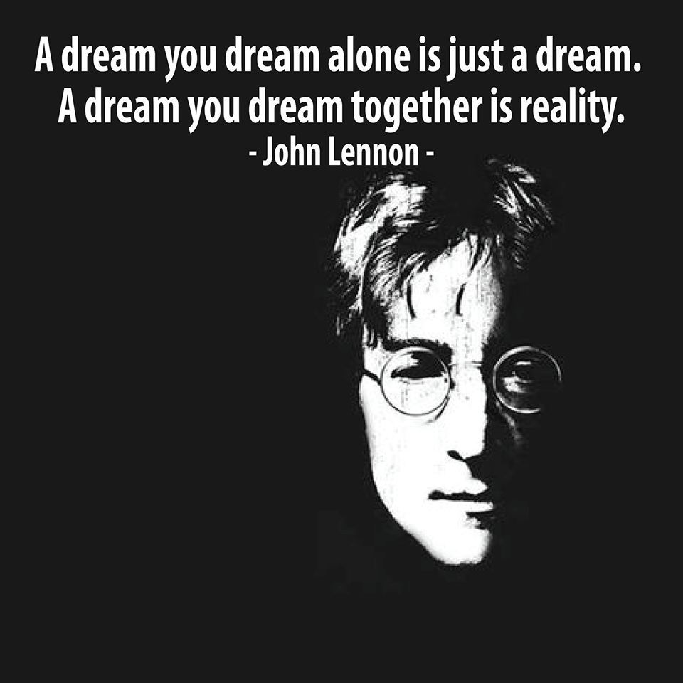 Mmgs English Blog At Pmcurie A Dream Together John Lennon
