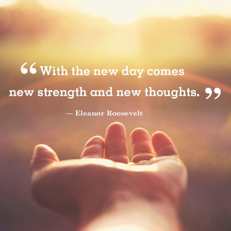 Mmgs English Blog At Pmcurie With The New Day By Eleanor Roosevelt
